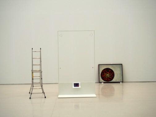 "installation of the exhibition ""Andrzej Wróblewski. Verso / reverso"", Madrid"