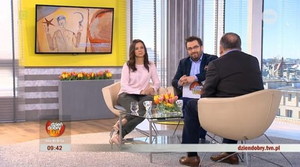Redaktorzy: Kinga Rusin i Bartosz Węglarczyk w rozmowie z Andrzejem Starmachem, właścicielem Galerii Starmach